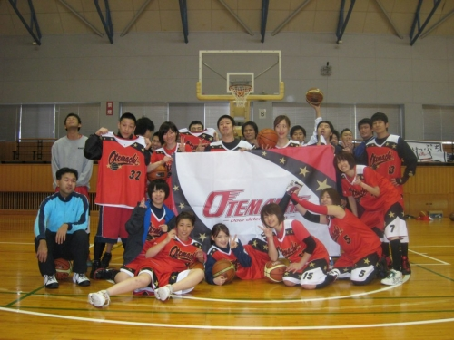 basketball team 大手町一家